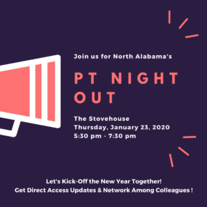 PT Night Out @ The Stovehouse | Huntsville | Alabama | United States